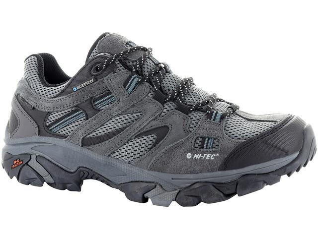 Cena fabryczna dobrze out x nowy styl życia Hi-Tec Ravus Vent Low WP Buty Mężczyźni, charcoal/cool grey/black